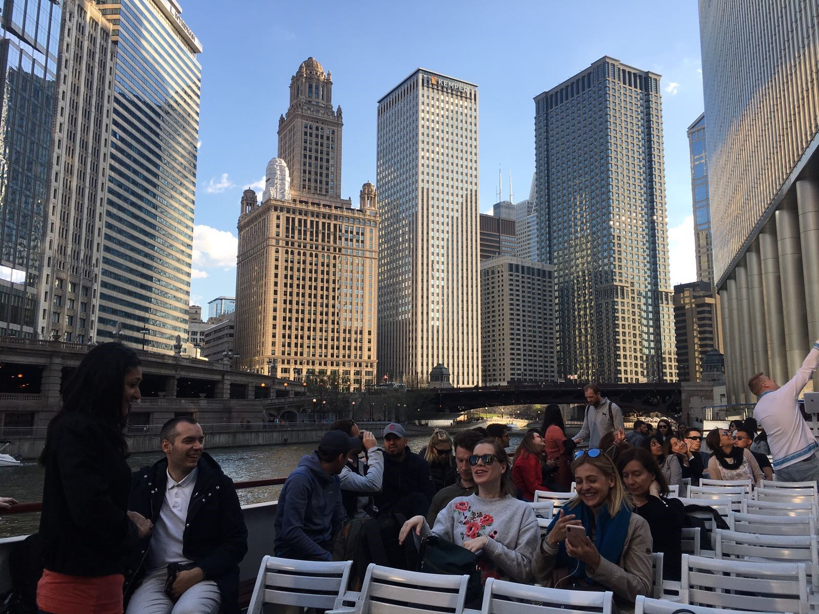 On Architectural Boat Ride – a worldwide known and must see attraction