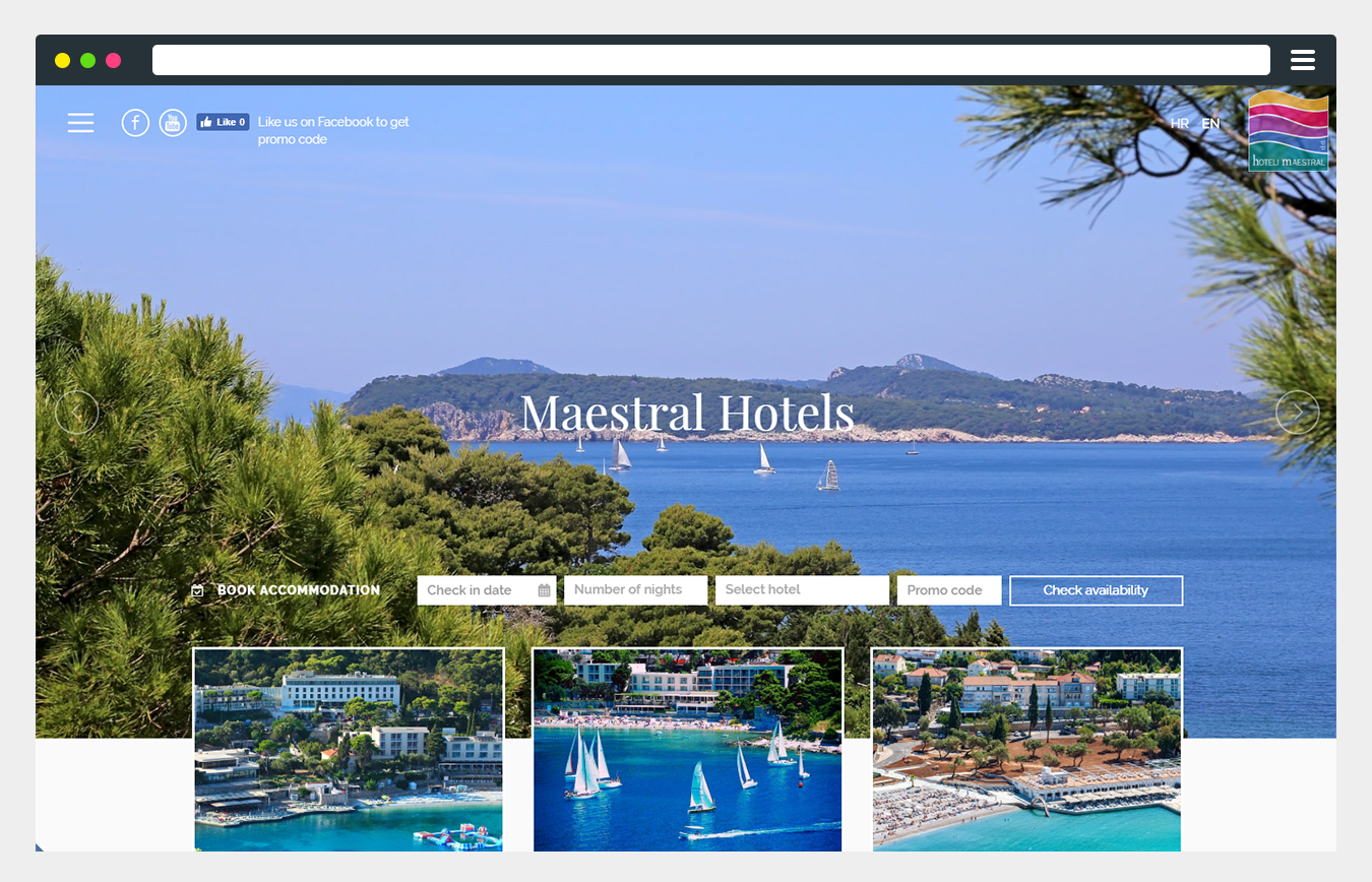 hotels maestral booking